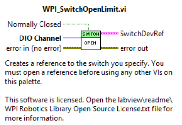 Limit-Switch - RoboRIO | FRC LabVIEW Tutorials on